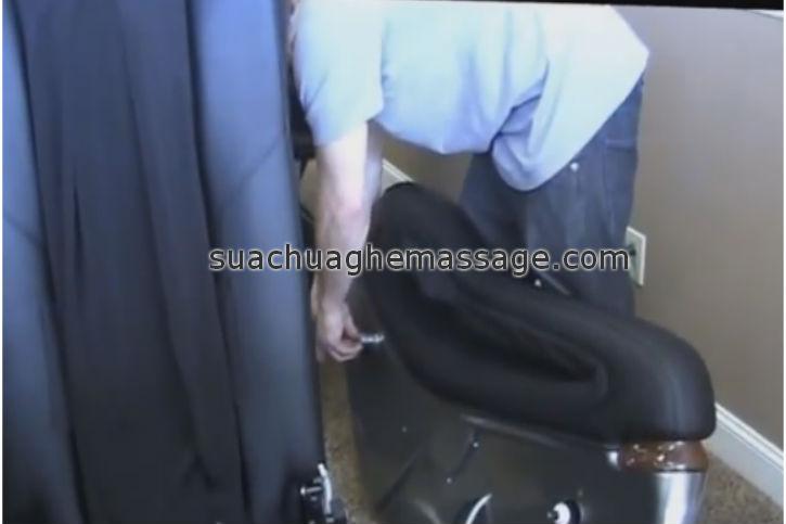Sửa chữa ghế massage Maxcom