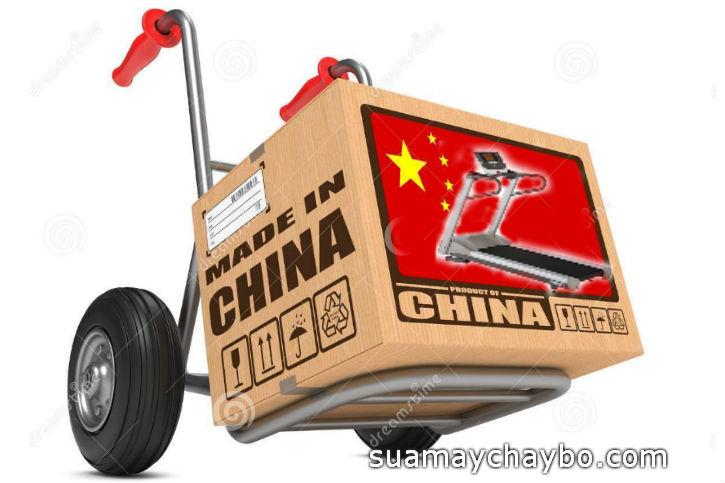 Máy chạy bộ Trung Quốc tràn ngập thị trường Việt Nam
