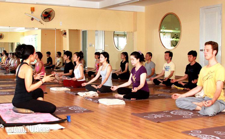 Địa chỉ tập yoga ở Hà Nội