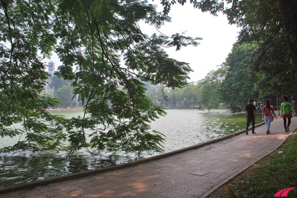 Một số địa điểm chạy bộ buổi sáng ở Hà Nội