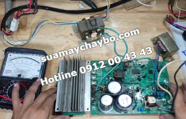 Sửa mạch máy chạy bộ